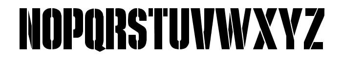 G.I. JERK Font UPPERCASE