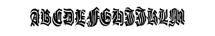 G?t Font UPPERCASE