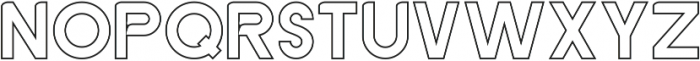 GACHOR HOLLOW ttf (400) Font LOWERCASE
