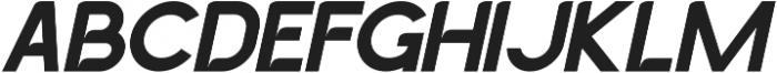 GACHOR LIGHT ITALIC ttf (300) Font UPPERCASE