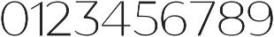 GANTIC Light ttf (300) Font OTHER CHARS