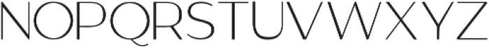 GANTIC Light ttf (300) Font UPPERCASE