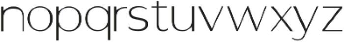 GANTIC Light ttf (300) Font LOWERCASE