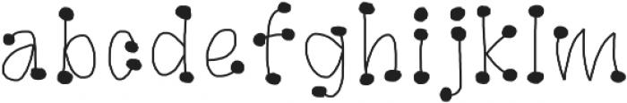 GaGoo otf (400) Font LOWERCASE
