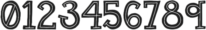 Gab Regular otf (400) Font OTHER CHARS