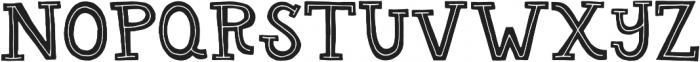 Gab Regular otf (400) Font UPPERCASE