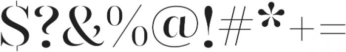 Gabriela Stencil otf (400) Font OTHER CHARS
