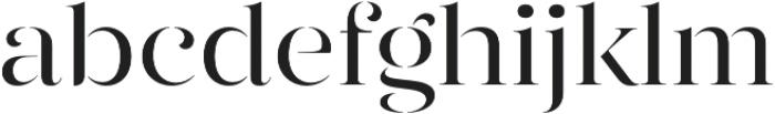 Gabriela Stencil otf (400) Font LOWERCASE