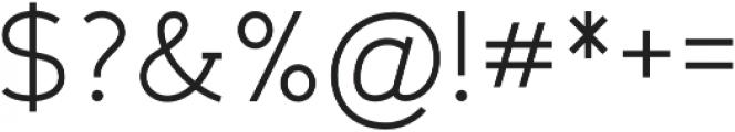 Gadera Regular otf (400) Font OTHER CHARS