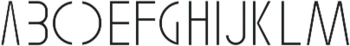 Gaja Hidoep light otf (300) Font LOWERCASE