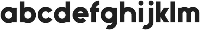Gajetto otf (400) Font LOWERCASE