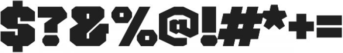 Galaradja otf (400) Font OTHER CHARS