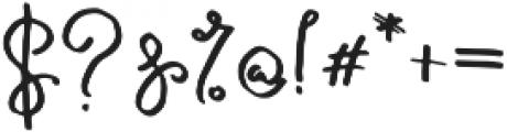 Galata Script otf (400) Font OTHER CHARS