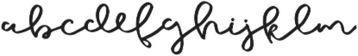 Galata Script otf (400) Font LOWERCASE