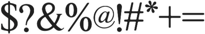 Galata Serif otf (400) Font OTHER CHARS
