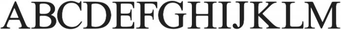Galata Serif otf (400) Font UPPERCASE