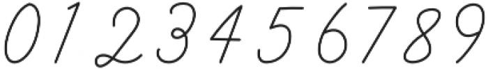 Galatee Script otf (400) Font OTHER CHARS