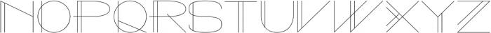 Galaxy One Regular otf (400) Font UPPERCASE