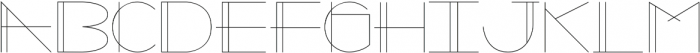 Galaxy One Regular otf (400) Font LOWERCASE