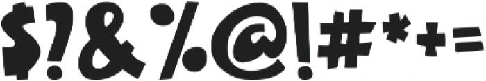 Galaxy black otf (900) Font OTHER CHARS