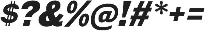 Galderglynn Esquire Black Italic otf (900) Font OTHER CHARS
