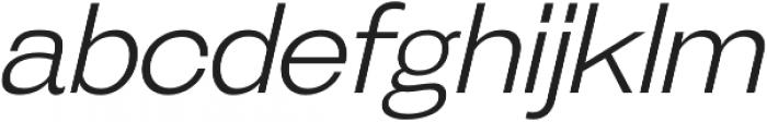 Galderglynn Esquire Light Italic otf (300) Font LOWERCASE