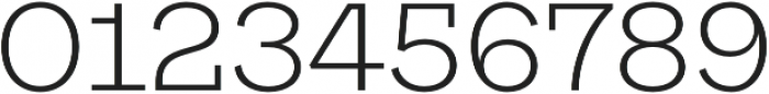 Galeria Alt Light otf (300) Font OTHER CHARS