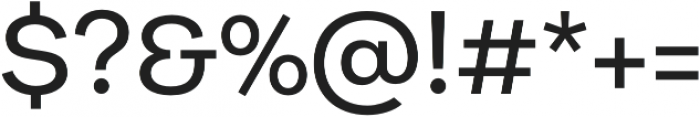 Galeria Alt Medium otf (500) Font OTHER CHARS