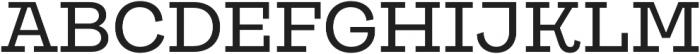 Galeria Alt Medium otf (500) Font UPPERCASE