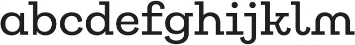 Galeria Alt Medium otf (500) Font LOWERCASE