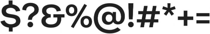 Galeria Alt SemiBold otf (600) Font OTHER CHARS