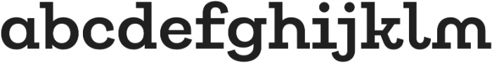 Galeria Alt SemiBold otf (600) Font LOWERCASE