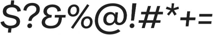 Galeria Medium It otf (500) Font OTHER CHARS