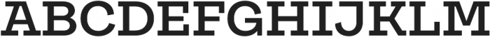 Galeria SemiBold otf (600) Font UPPERCASE