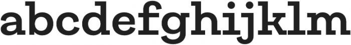 Galeria SemiBold otf (600) Font LOWERCASE