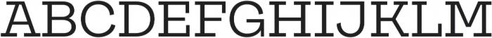Galeria otf (400) Font UPPERCASE