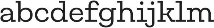 Galeria otf (400) Font LOWERCASE