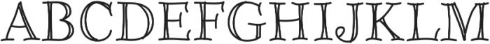 Galicya ttf (400) Font UPPERCASE