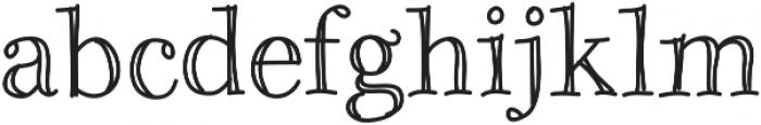 Galicya ttf (400) Font LOWERCASE