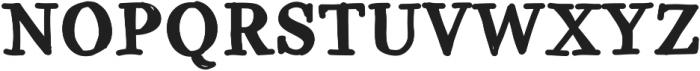 GalicyaSolid ttf (700) Font UPPERCASE