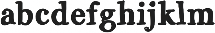 GalicyaSolid ttf (700) Font LOWERCASE