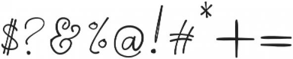 Galilei Script otf (400) Font OTHER CHARS