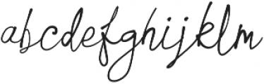Galilei Script otf (400) Font LOWERCASE