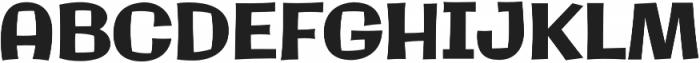 Galindo Pro Regular otf (400) Font UPPERCASE