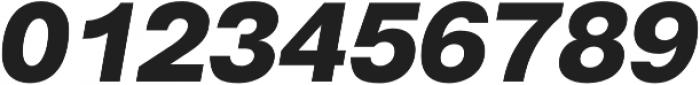 Gallad Black Italic otf (900) Font OTHER CHARS
