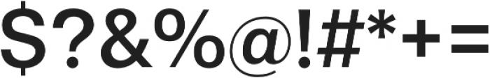 Gallad Medium otf (500) Font OTHER CHARS