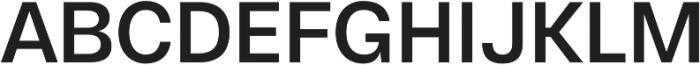 Gallad Medium otf (500) Font UPPERCASE
