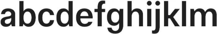 Gallad Medium otf (500) Font LOWERCASE