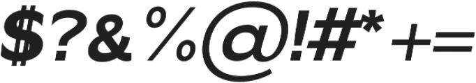 Gallant bold-italic otf (700) Font OTHER CHARS