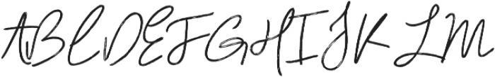 Gallantry otf (400) Font UPPERCASE